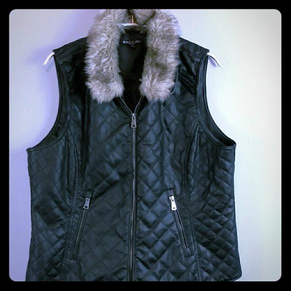 Baccini Jackets & Blazers - Baccini Vest XL